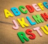 Speelgoed letters